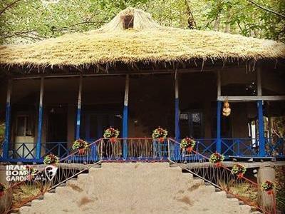 اقامتگاه بوم گردی با سقف کاهی در کوچصفهان رشت