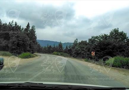 جاده های مسیر کیاسر