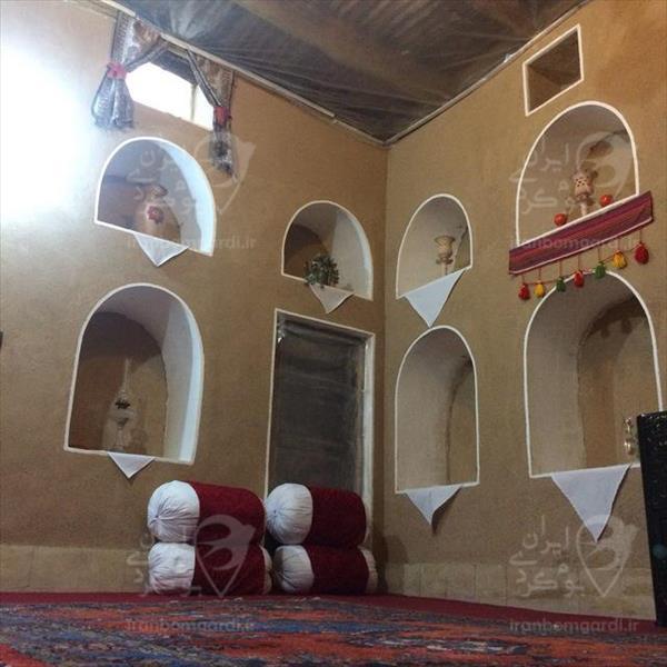 نمای داخلی اتاق اقامتگاه سرای صالح