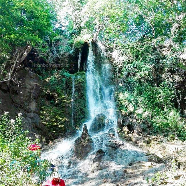 آبشار سمبی در منطقه هزار جریب بهشهر