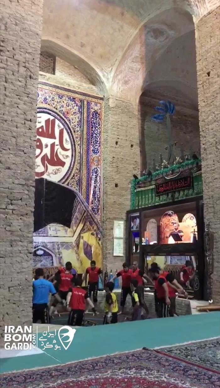 آب انبار یا زورخونه تاریخی زواره اصفهان 31