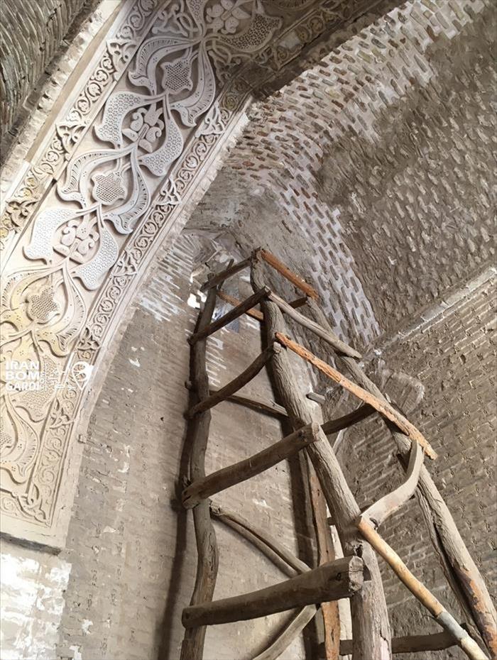 داربست هزار ساله در مسجد زواره 08