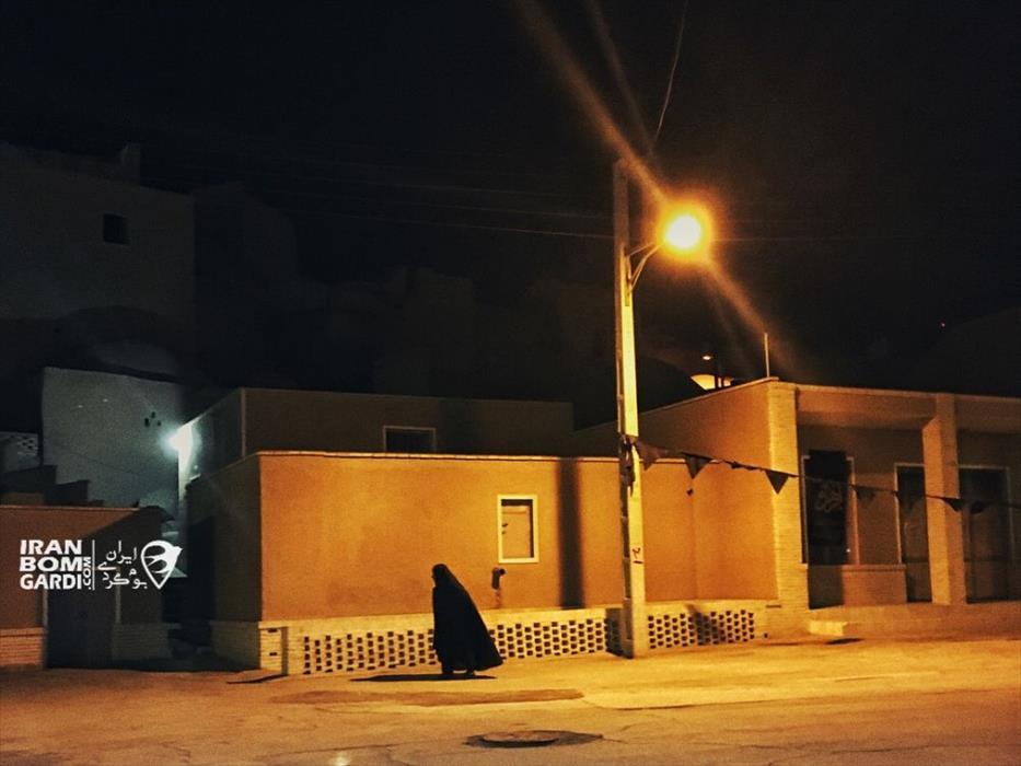 شب سرد در انارک