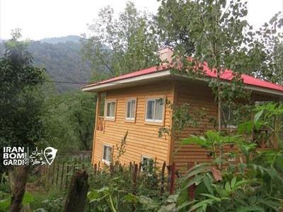کلبه چوبی شیروان ماسال