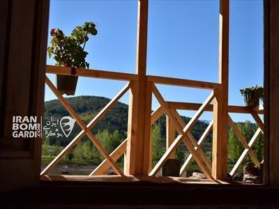 کلبه چوبی نگین کیاسر